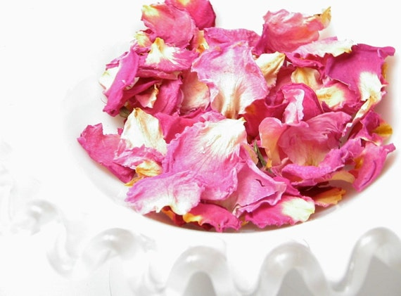 Pink Rose Scented Rose Petals: Homegrown Potpourri