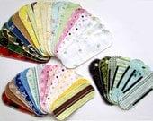 Cloth Menstrual Pantyliner SAMPLER SET - 100% Cotton Flannel