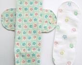 3 in 1 Foldable Cloth Menstrual HEAVY OVERNITE MAXI Pad