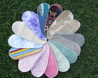 Mystery Pack Set of 10 Flannel Pantyliner - Short
