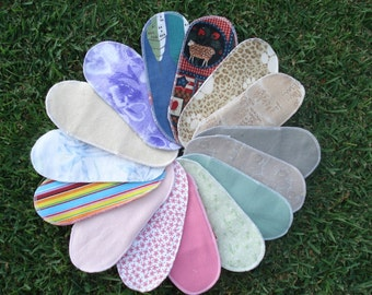 Mystery Pack Set of 20 Flannel Pantyliner - Short
