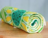 POP GARDEN - Travel Changing Pad/Travel Blanket with ORGANIC Fleece - ECO-FRIENDLY - READY TO SHIP