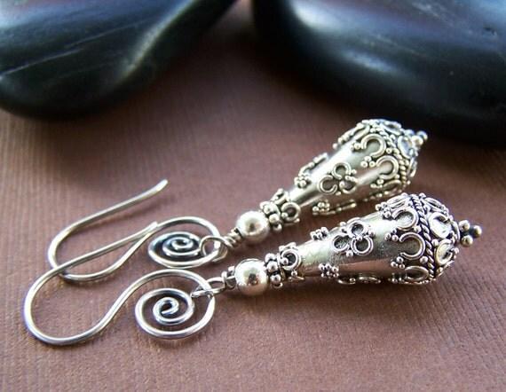Marisol Earrings - Sterling Silver Dangle Earrings