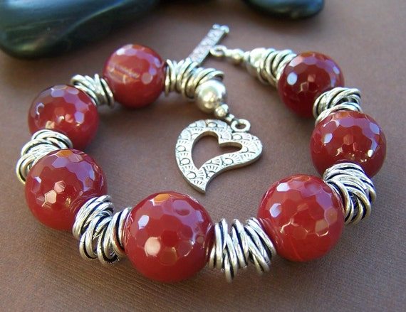 Systematic Chaos - Gemstone and Sterling Bead Bracelet