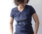 ON SALE - Star of HOPE T-Shirt - Navy Blue