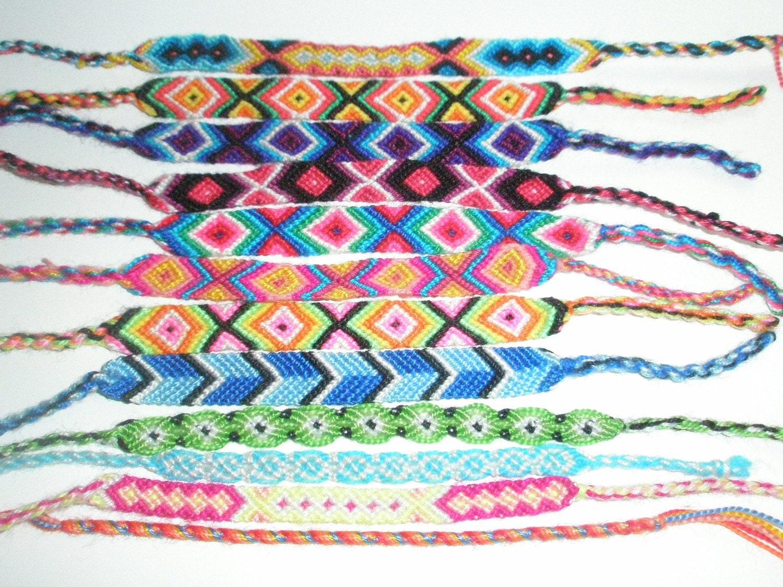 Friendship cotton bracelets