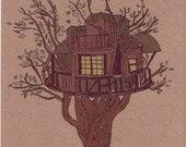 treehouse- 5x7 print