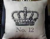 Pillow Crown No. 12 French Design