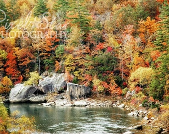 O and W River Gorge - 8x10 Photograph