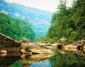 Jake's Hole in the Big South Fork - 16x24 Photograph