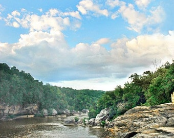 Cumberland Falls River Gorge - 8x10 Photograph
