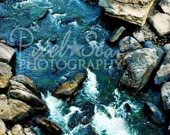 O and W River in the Big South Fork - 8 x 10 Photograph