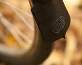 Bicycle Mud Flap - Leather - Classic Bike Style
