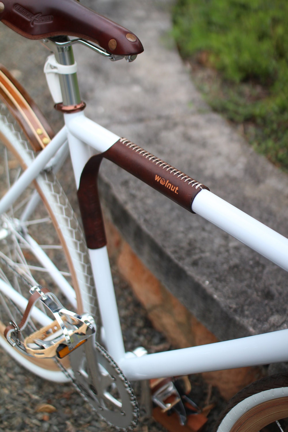 Made in Wisconsin, our handcrafted leather bicycle accessories are the perfect compliment for your ride. Better than Bluetooth, these hand free bicycle accessories are .