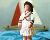 X853 Crochet PATTERN ONLY Tiny Betsy Doll Toy Decoration