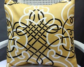 18X18 Della Lemon Pillow Cover