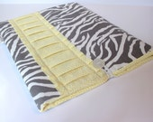 iPad Case / iPad Sleeve / iPad Cover / iPad 2 Case / iPad 2 Sleeve / iPad 3 Case / Padded - Grey Zebra