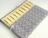 iPad Air Case / iPad Case / Tablet case / iPad Sleeve Padded for any iPad  - Modern Grey and Yellow