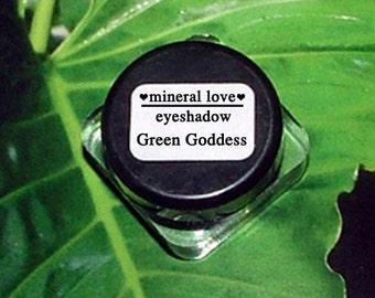 Green Goddess Small Size Eyeshadow