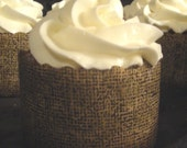 Gingerbread Cupcakes filled with Lemon Curd - Cream Cheese Frosting