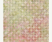 Batik Fabric: Summer Domino Lattice - Tonga Premium Batik Cotton Fabric -   - 1/2 YD - FabricFascination