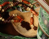Coconut Shell Cross Necklace