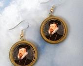 ROBERT DUDLEY Tudor suitor EARRINGS