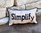 Simplify Pillow
