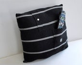 Recycled Shirt TV Remote Pillow