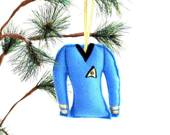 Star Trek Science Officers Shirt Christmas Ornament