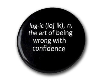 Logic Pin Pinback