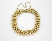 Vintage Pearl Bracelet by ART