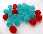 150 Soft Velvet Beads choose your colors