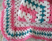 Baby Blanket Granny Square Afghan