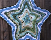 A Star is Born Star Shaped Blanket