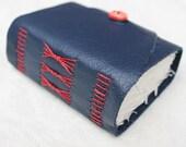 Nautical Red, White and Blue - Handmade Blank Book / Diary