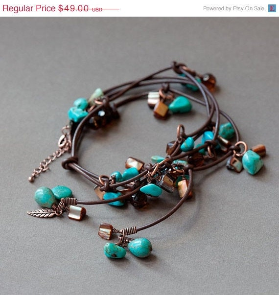 Cyber Monday Sale Lariat Necklace, Knotted Necklace -  BOHEMIAN DAYS