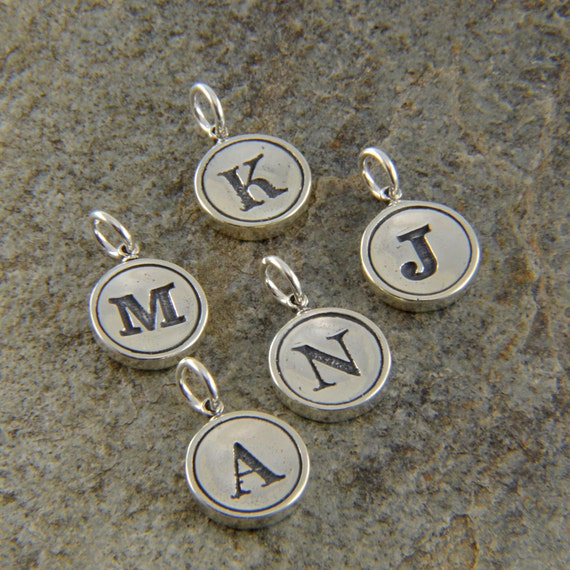 Image Result For Typewriter Key Initial Necklace