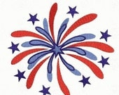 Firework Firecracker 4th of July - Instant Email Delivery Download Machine embroidery design