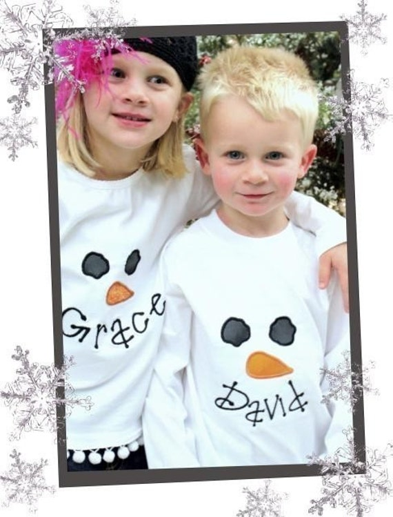 Snowman Face Applique - Great For Girls and Boys- Instant Email Delivery Download Machine embroidery design