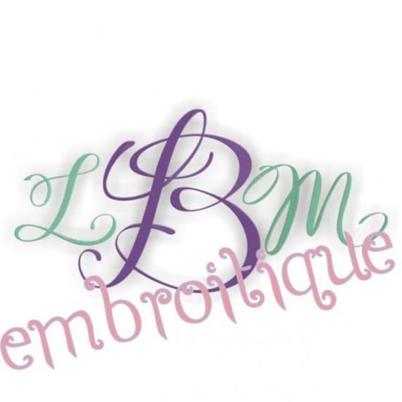 Lucy Elegant Script Monogram Set- Machine Embroidery Font Alphabet Letters  - Instant Email Delivery Download Machine embroidery design