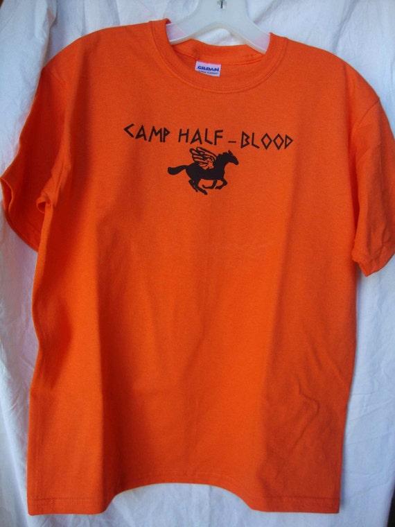 Youth Camp Half Blood T Shirt Children S Medium Kids