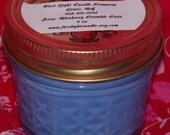 Blueberry Crumble Cake Hand poured scented Soy Wax 4 oz. Candle