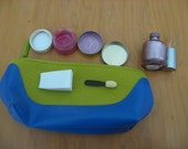 Mess Free Play Makeup - Blue/Green Bag
