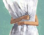 Pillow Land . giclee art print