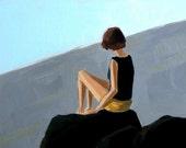 Lava Rocks . giclee art print