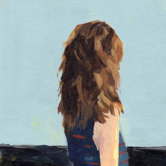 Calm . original painting