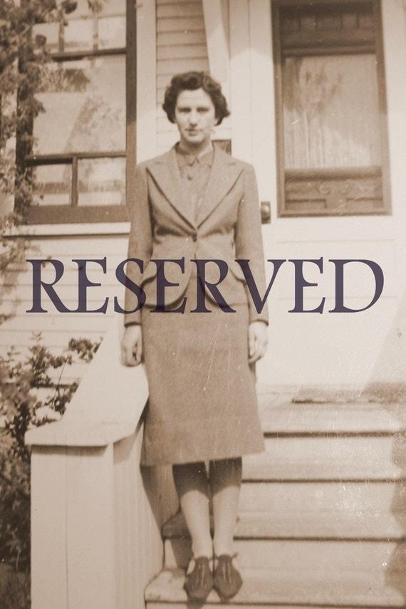 Reserved Listing         1960s 'Little Debbie Dress Up' Blue Novelty Cotton Day Dress