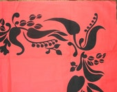 Beautiful Tahitian Sarong Fabric & 'Tahiti Imports' Wrapping Guide . . . finders 1/2off SaLe