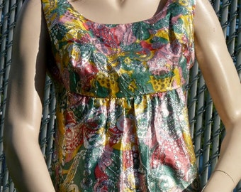Vintage Dress 1960s Styled by Ira Curtis - FREE US SHIPPING